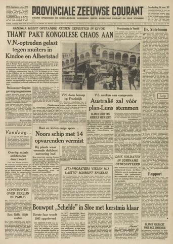 Provinciale Zeeuwse Courant 1961-11-16
