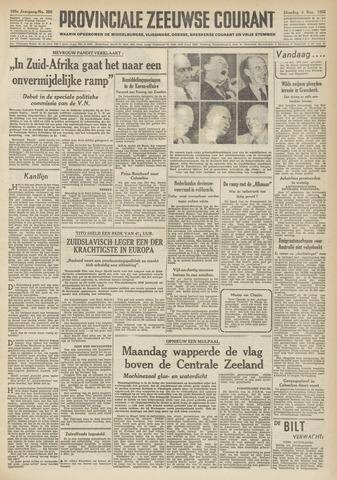 Provinciale Zeeuwse Courant 1952-11-04