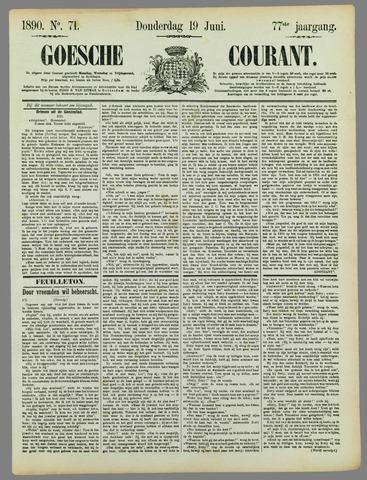 Goessche Courant 1890-06-19
