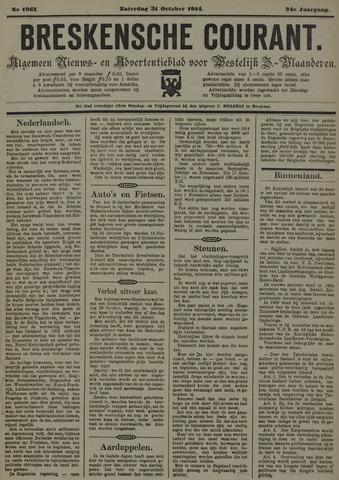 Breskensche Courant 1914-10-31