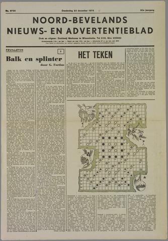Noord-Bevelands Nieuws- en advertentieblad 1976-12-23