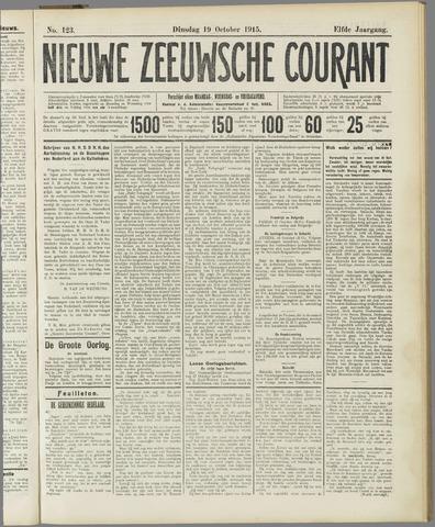 Nieuwe Zeeuwsche Courant 1915-10-19