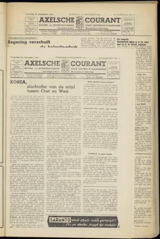 Axelsche Courant 1950-11-08