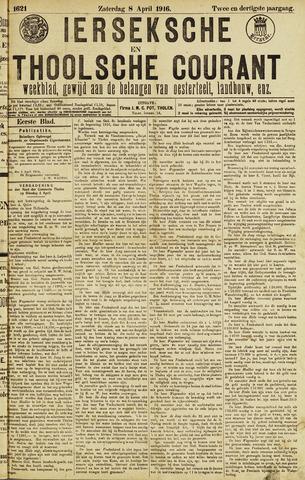 Ierseksche en Thoolsche Courant 1916-04-08
