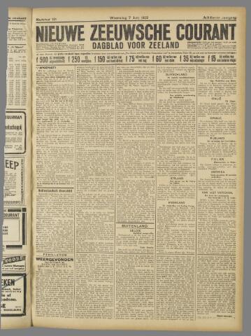 Nieuwe Zeeuwsche Courant 1922-06-07