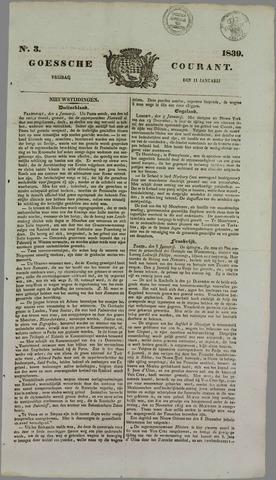 Goessche Courant 1839-01-11