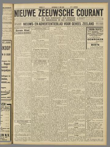 Nieuwe Zeeuwsche Courant 1931-06-27