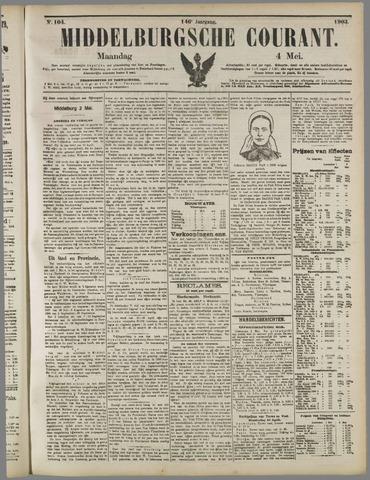 Middelburgsche Courant 1903-05-04