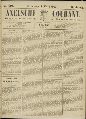 Axelsche Courant 1892-05-04