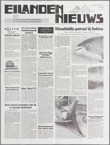 Eilanden-nieuws. Christelijk streekblad op gereformeerde grondslag 2004-11-30