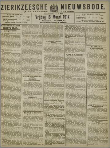 Zierikzeesche Nieuwsbode 1917-03-16