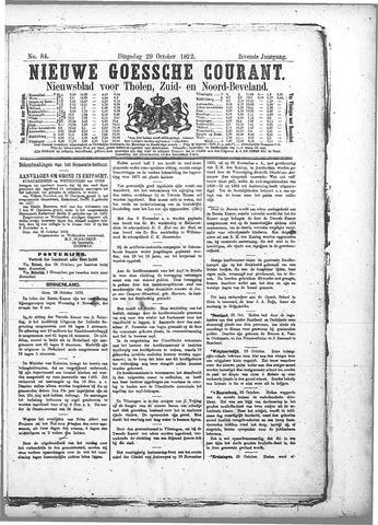 Nieuwe Goessche Courant 1872-10-29