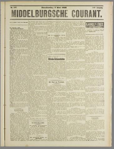 Middelburgsche Courant 1925-05-07