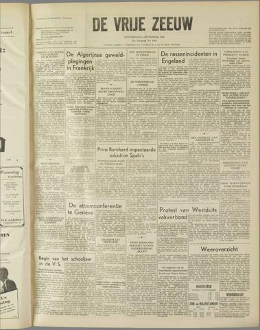 de Vrije Zeeuw 1958-09-04