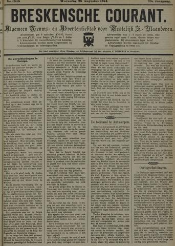 Breskensche Courant 1914-08-26