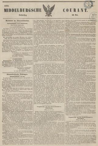 Middelburgsche Courant 1852-05-22