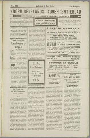 Noord-Bevelands Nieuws- en advertentieblad 1928-11-10