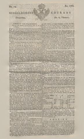 Middelburgsche Courant 1762-02-25