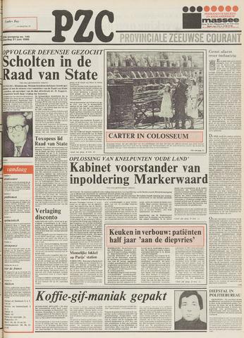 Provinciale Zeeuwse Courant 1980-06-21