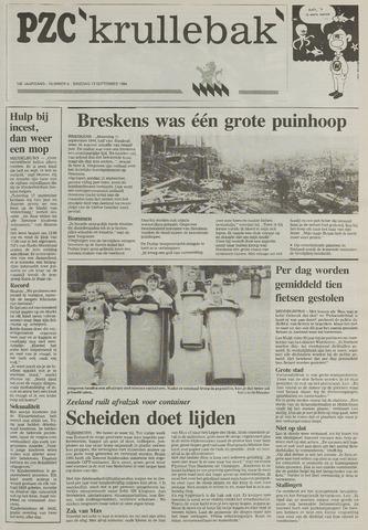 Provinciale Zeeuwse Courant katern Krullenbak (1981-1999) 1994-09-13