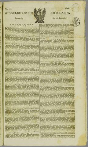Middelburgsche Courant 1824-12-16