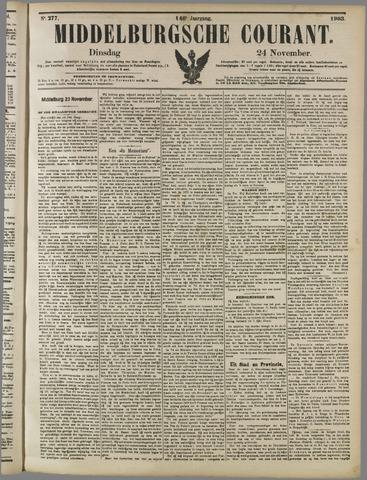 Middelburgsche Courant 1903-11-24