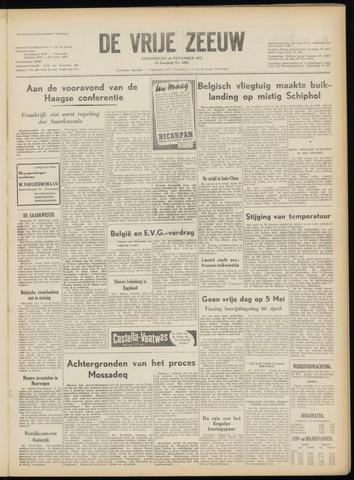 de Vrije Zeeuw 1953-11-26