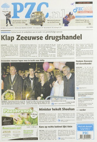 Provinciale Zeeuwse Courant 2010-03-20