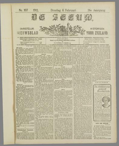 De Zeeuw. Christelijk-historisch nieuwsblad voor Zeeland 1912-02-06