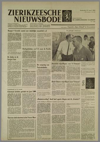 Zierikzeesche Nieuwsbode 1965-03-25