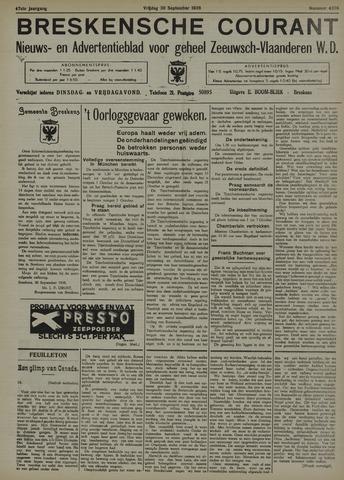 Breskensche Courant 1938-09-30