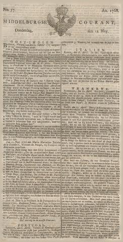 Middelburgsche Courant 1768-05-12