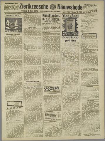 Zierikzeesche Nieuwsbode 1925-05-08