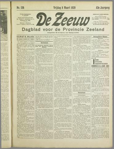 De Zeeuw. Christelijk-historisch nieuwsblad voor Zeeland 1929-03-08