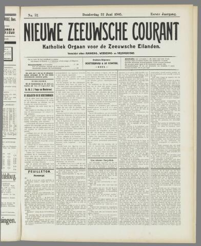 Nieuwe Zeeuwsche Courant 1905-06-22