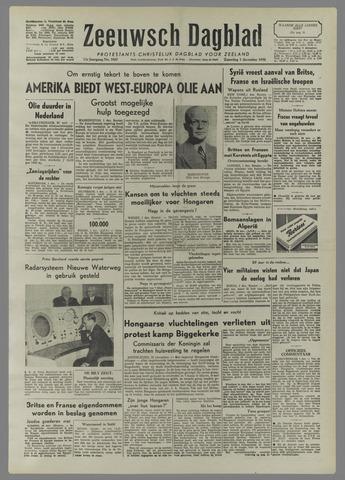 Zeeuwsch Dagblad 1956-12-01