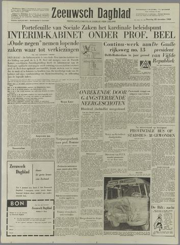 Zeeuwsch Dagblad 1958-12-22