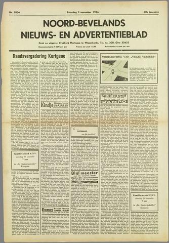 Noord-Bevelands Nieuws- en advertentieblad 1956-11-03