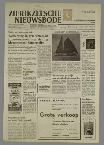 Zierikzeesche Nieuwsbode 1976-04-27
