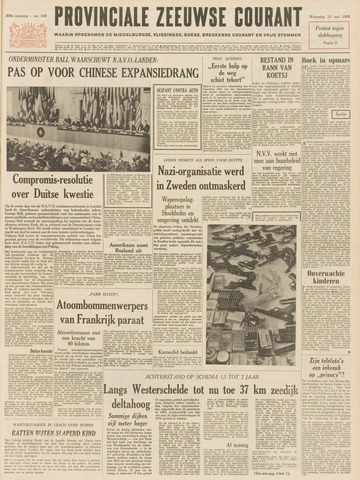 Provinciale Zeeuwse Courant 1965-05-12