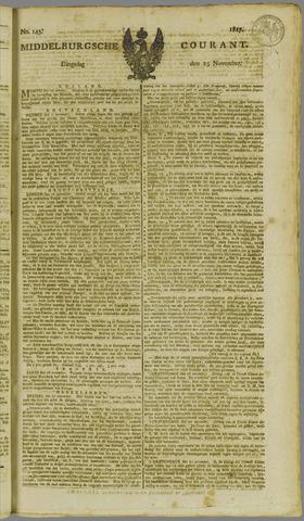 Middelburgsche Courant 1817-11-25