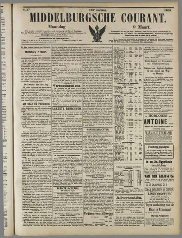 Middelburgsche Courant 1903-03-09