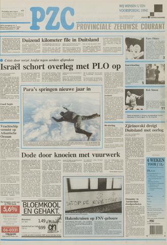 Provinciale Zeeuwse Courant 1994-01-03