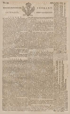 Middelburgsche Courant 1785-08-06