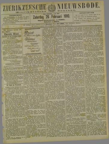 Zierikzeesche Nieuwsbode 1910-02-26