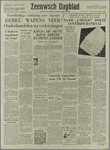 Zeeuwsch Dagblad 1959-10-14