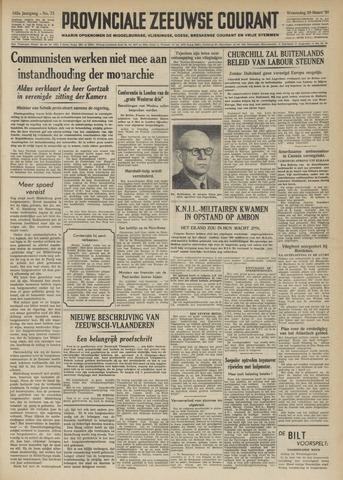 Provinciale Zeeuwse Courant 1950-03-29