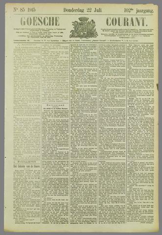 Goessche Courant 1915-07-22