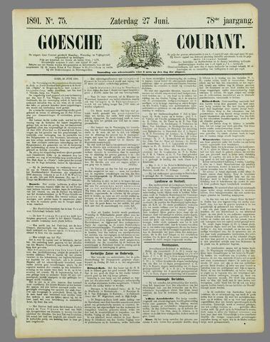 Goessche Courant 1891-06-27