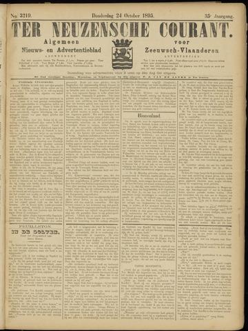 Ter Neuzensche Courant. Algemeen Nieuws- en Advertentieblad voor Zeeuwsch-Vlaanderen / Neuzensche Courant ... (idem) / (Algemeen) nieuws en advertentieblad voor Zeeuwsch-Vlaanderen 1895-10-24